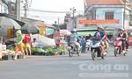 Chợ tự phát tràn lan, giao thông hỗn loạn
