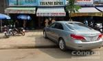 Xe ô tô tông quán cà phê, 3 người bị thương