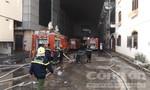 Cần Thơ dồn toàn bộ lực lượng, phương tiện để chữa cháy công ty may