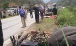 Va chạm với xe tải, một nữ du khách tử nạn