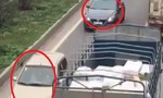 Xử phạt các tài xế lái xe chạy ngược chiều trên cao tốc