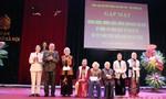 Câu lạc bộ nữ sỹ quan hưu trí Bộ công an kỉ niệm 107 năm ngày quốc tế phụ nữ 8-3.