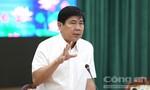 Chủ tịch Nguyễn Thành Phong: 'Sắp xếp lại chợ tự phát chứ không phải dẹp'