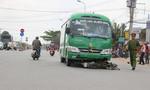 Xe khách tông chết người đàn ông băng qua đường