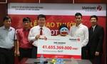 Vietlott trao giải độc đắc hơn 41,6 tỷ đồng cho khách hàng từ Lâm Đồng