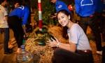Hoa hậu Nguyễn Thị Loan mua 3,5 tấn dưa ủng hộ bà con miền Trung