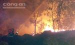 Bắt đối tượng 'phóng hỏa' xưởng tái chế dầu nhớt ở Đồng Nai