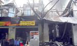 TP.HCM: Cơ sở may mặc cháy lan sang nhà dân lúc rạng sáng