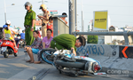 Tông thành cầu, 2 thanh niên rơi xuống kênh ở Sài Gòn