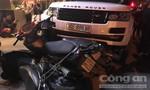 Diễn viên quần chúng trộm xế hộp Range Rover rồi gây tai nạn liên hoàn