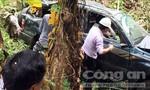 Xe chở Phó tổng giám đốc EVN mất lái, lao xuống vực sâu 40 m