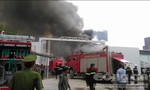 Cháy nhà xưởng rộng hàng trăm m2 gần tòa nhà Keangnam