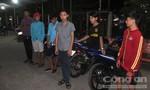 CSGT bao vây bắt 6 'quái xế' quậy trong khu dân cư