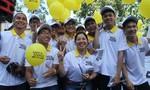 Ngôi sao Dương Tử Quỳnh cùng sinh viên TP.HCM khởi động dự án Safe Steps