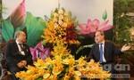 Bí thư Nguyễn Thiện Nhân tiếp Chủ tịch Quốc hội Myanmar
