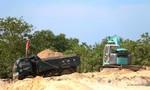 Vụ lợi dụng cải tạo mặt bằng, khai thác cát trái phép: Xử phạt doanh nghiệp, đình chỉ hoạt động