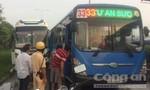 Xe khách va chạm với xe buýt, nhiều hành khách hoảng sợ