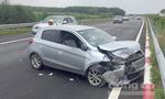 3 ô tô tông nhau nát đầu trên cao tốc ở Đồng Nai