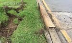 TP.HCM: Hai hố ga trên đường Trường Sa phát nổ