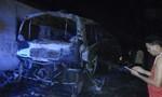 Cháy xe khách ở Lào khiến 1 người Việt thiệt mạng