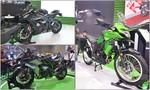 Bộ 3 'xế khủng' Kawasaki tại triển lãm VMCS 2017