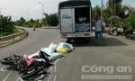 Tông trực diện vào đầu xe tải, một thanh niên nguy kịch