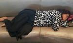 Bức ảnh giấc ngủ 'vạ vật' của bà Bộ trưởng lan truyền 'chóng mặt'