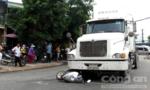 """""""Hung thần"""" container tong chết cô gái trẻ giữa Sài Gòn"""
