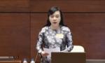 Bộ trưởng Y Tế Nguyễn Thị Kim Tiến trả lời chất vấn
