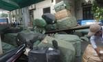Phát hiện gần 10 tấn hàng lậu vận chuyển từ Hà Nội