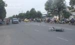 Ô tô tông người phụ nữ văng 10m tử vong rồi bỏ trốn