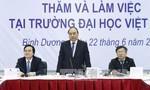 Thủ tướng Chính phủ Nguyễn Xuân Phúc thăm Trường Đại học Việt Đức