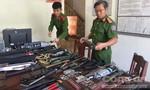 Kho vũ khí 'khủng' được tàng trữ trong nhà