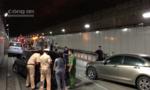 Ô tô chạy ngược chiều trong hầm Thủ Thiêm: Nhiều lần vi phạm quá tốc độ