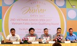 Việt Nam Junior Open 2017 đang diễn ra tại Bà Rịa - Vũng Tàu