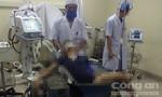 Cứu sống bệnh nhân bị máy gạch nghiền nát một chân