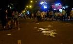 Đường phố Đà Nẵng ngập rác sau đêm chung kết pháo hoa quốc tế 2017