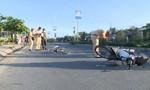 Mô tô va chạm xe đạp khiến một cụ ông nguy kịch