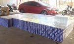 Bắt ô tô chở gần 30 ngàn bao thuốc lá nhập lậu