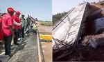 Cầu nhà thầu Trung Quốc xây ở Kenya chưa khánh thành đã sập
