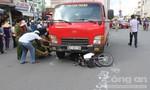 Rẽ trái, phụ nữ bị xe tải đụng thiệt mạng