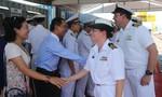 Tàu hải quân hiện đại của Hoàng gia Úc đến Đà Nẵng