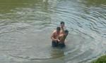 Bị vây bắt, kẻ buôn ma túy nhảy xuống sông tẩu thoát nhưng bất thành