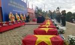 Truy điệu, an táng 122 hài cốt liệt sĩ quân tình nguyện Việt Nam hy sinh ở Campuchia