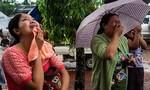 Máy bay quân sự Myanmar rơi do thời tiết xấu