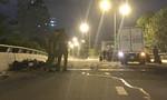 Đi ngược chiều trên cầu, 2 thanh niên bị xe tải tông chết