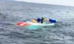 Tàu cá chìm cách bờ 83 hải lý được kéo vào bờ an toàn