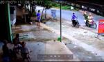 Cảnh sát tóm gọn trên trộm xe máy như phim hành động