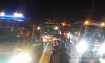 3 xe khách tông nhau, 3 người chết, 10 người bị thương