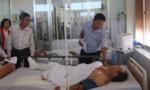 Tập trung cứu chữa những nạn nhân trong vụ tai nạn giữa 3 xe khách